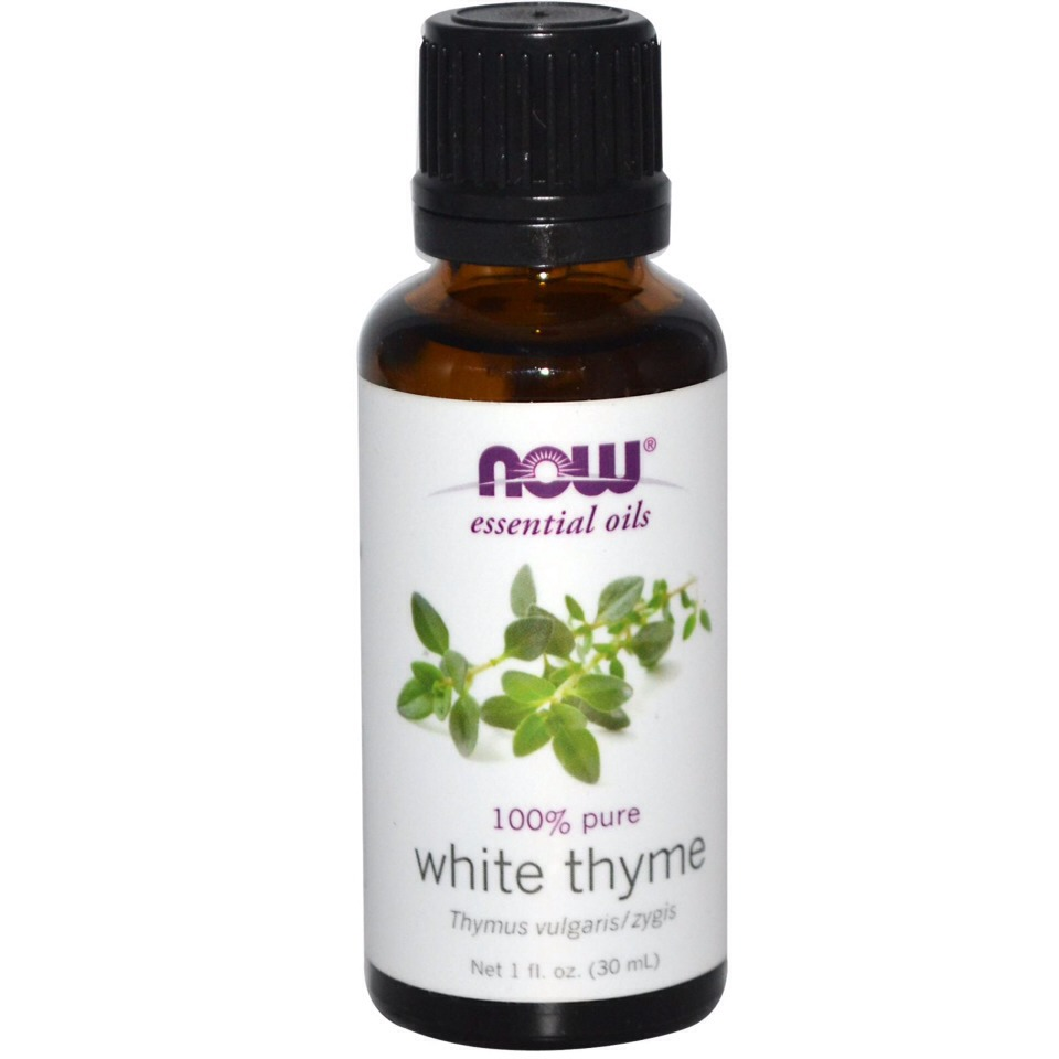 10 drops Thyme Essential Oil.