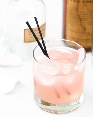 This beautiful cocktail had us at hello!  The mix of rose syrup and cardamon creates a swoon-worthy concoction that will leave you wanting more!