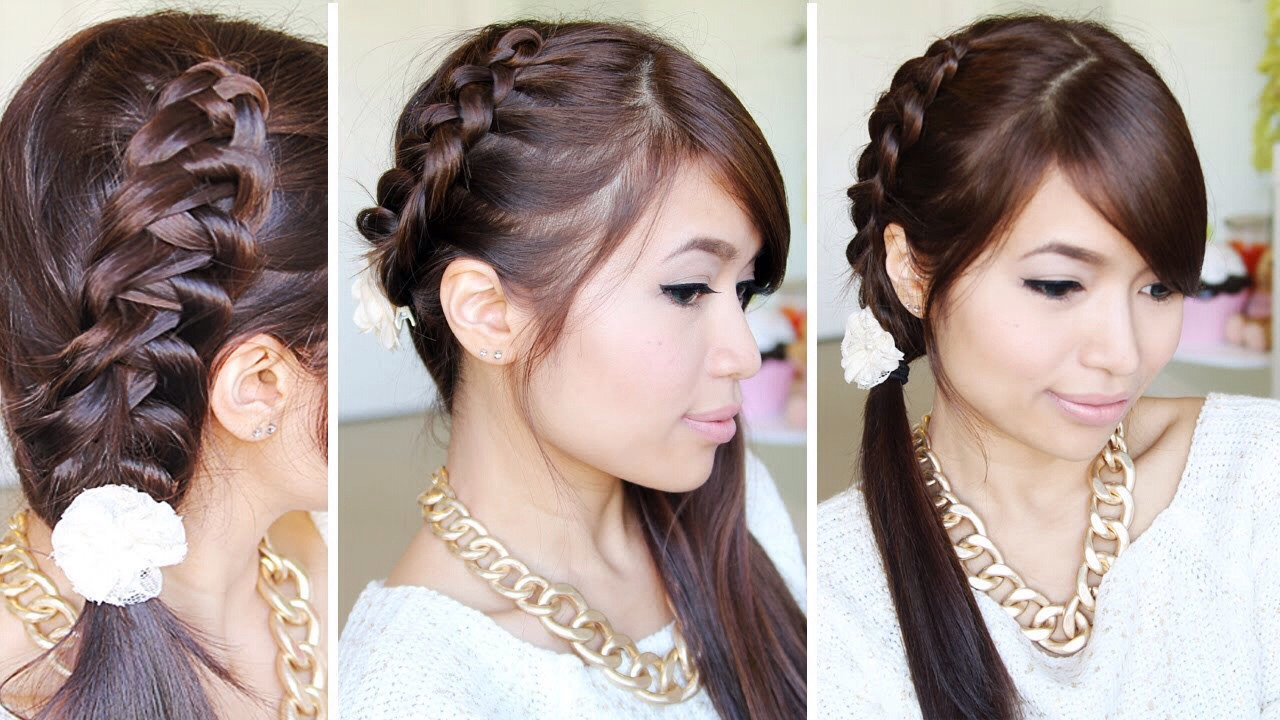 Bebexo on YouTube has the best hair tutorials! The way she explains things makes it so easy!