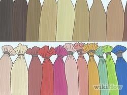 1) Choose the right color. For highlights, it's best to stick with a color that is one to two shades lighter than your base color. Going too light can create an unnatural, stripy effect. If you have the option, go for a box that comes with a toner. That's the stuff that can take care of harsh tones.