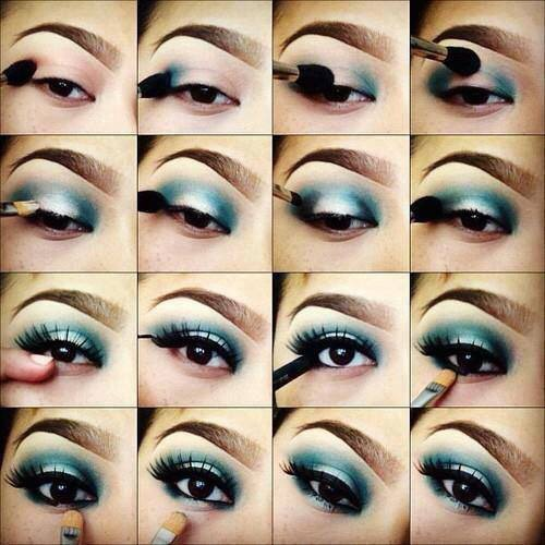 These are step by step tips on how to make those beautiful eyes pop in different colors.  Enjoy and please like!
