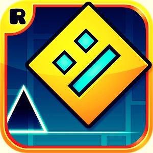 Geometry Dash; listen to the beat of the music and tap to avoid obstacles!