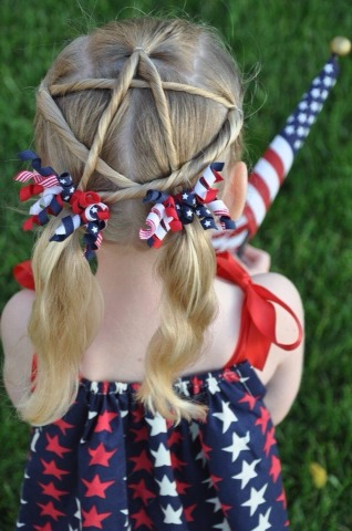 Cute Fourth of July look!