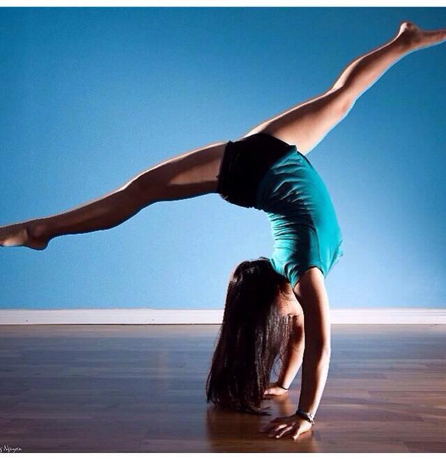 Dancer's Handstand