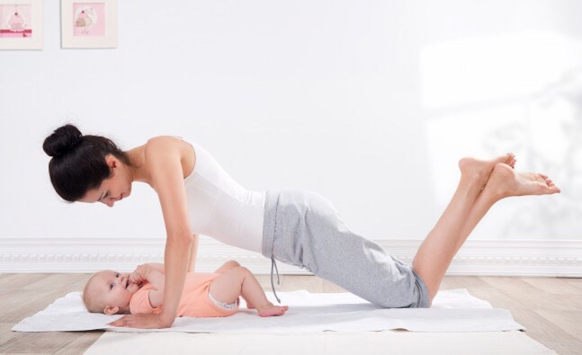Get up and move: Most new moms are too sleep-deprived and overwhelmed to even think about exercise. That's OK, says Renee M. Jeffreys, M.S., Most women's bodies aren't ready for serious exercise until six weeks after giving birth, anyway—longer if they've had a Cesarean section.