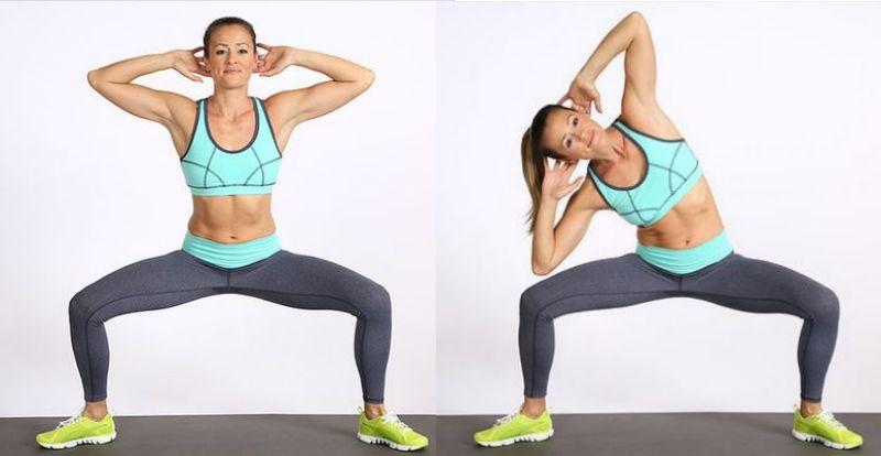 squat and bend