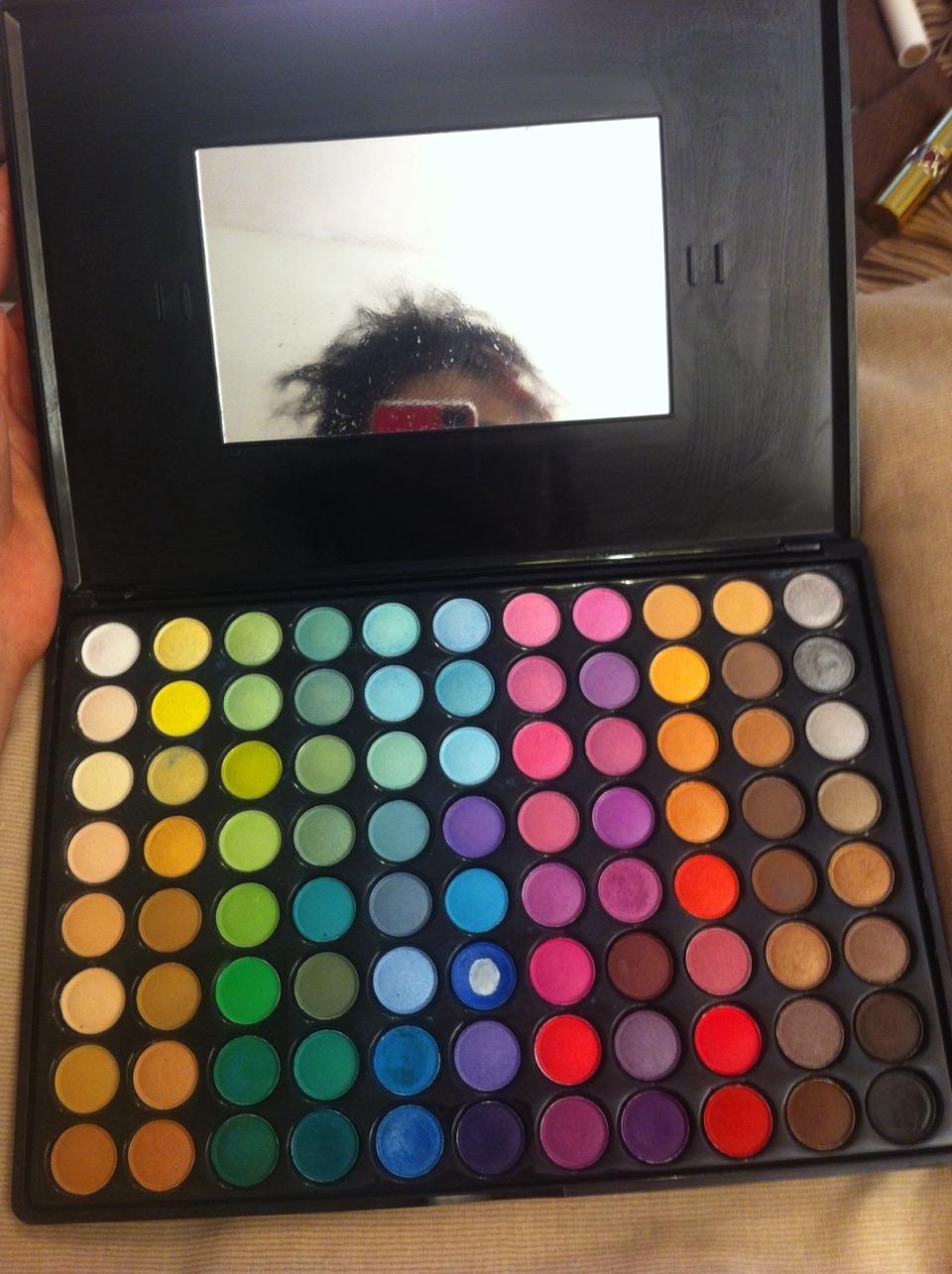 My Fräulein eyeshadow palette was £12 from eBay and works wonders