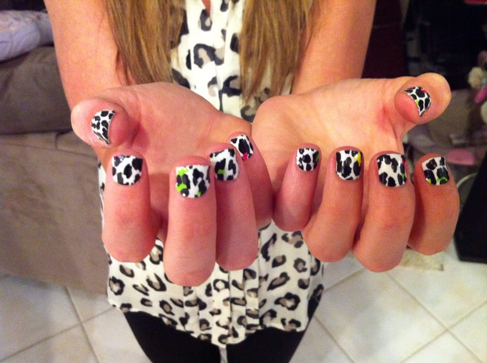 Jamberry nail wraps are a fun, easy, and cheap way to get cute, fashionable nails in 20 minutes or less! Costing $15 per sheet (you can get several uses out of 1 sheet) I definitely recommend Jamberry for anyone!