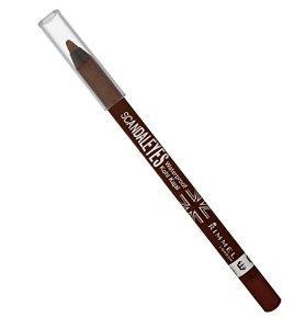 7. Brown eyeliner.