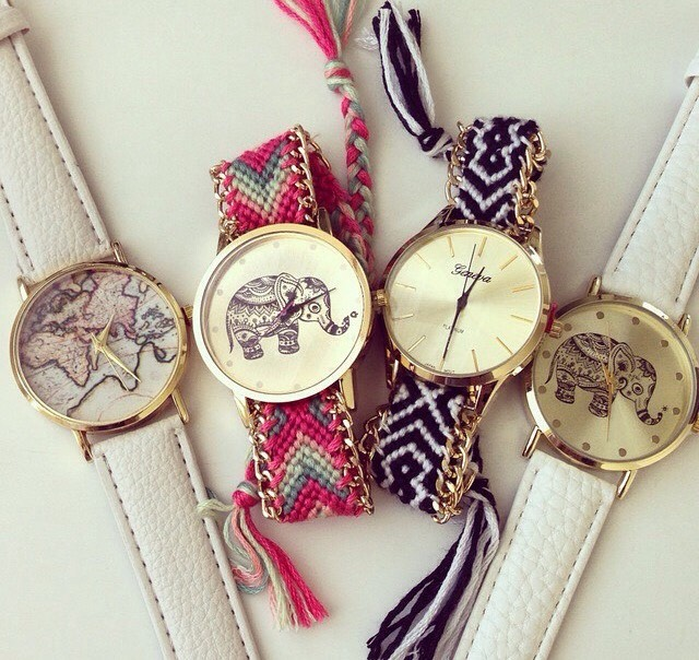 8: Watches Watched are a 2in1 (bracelet/clock). And it's nice to have around just in case😉!