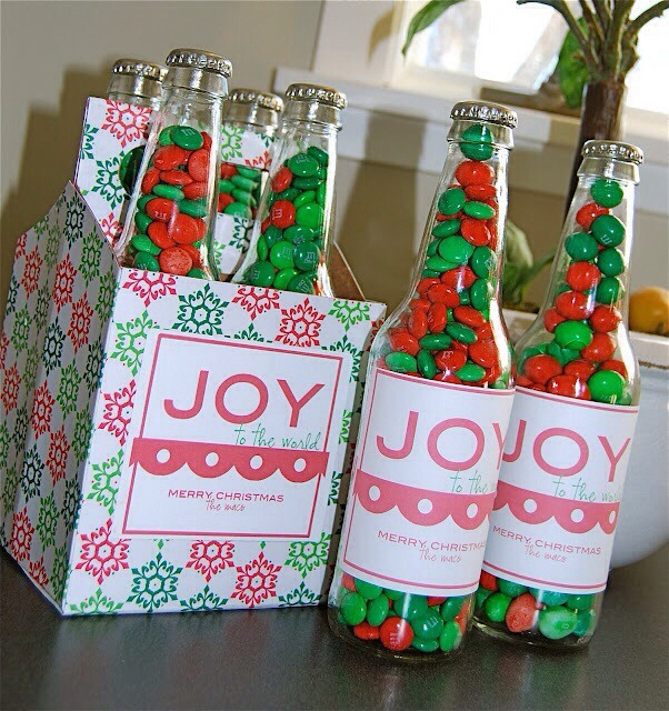 Fill Gl Bottles With Green And Red M Ms