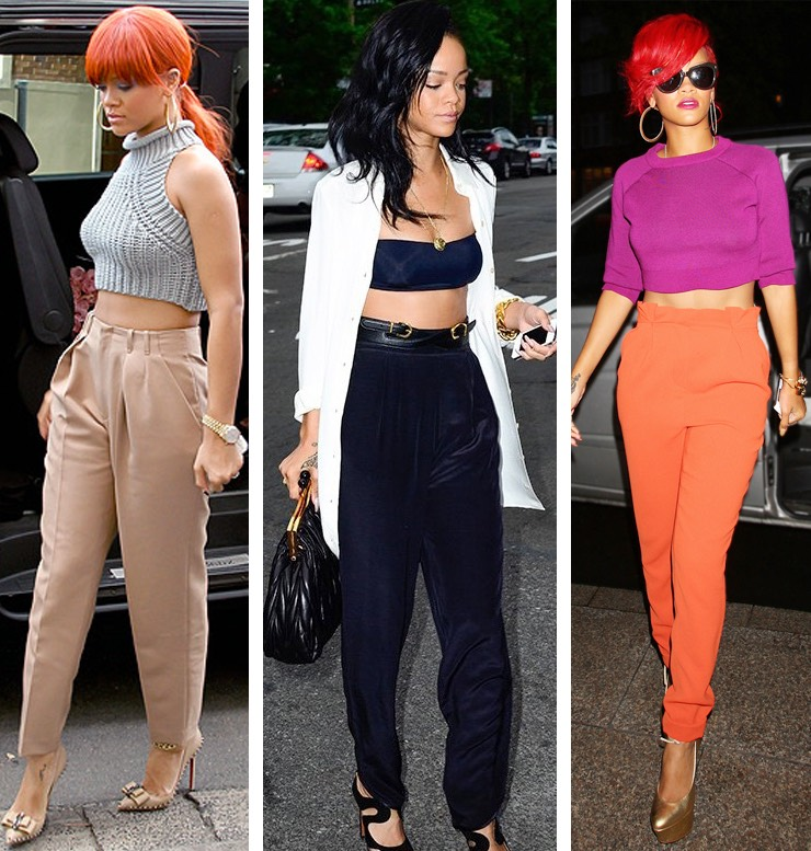 Ri-Ro got it down with these smoking hot looks that aren't too flashy