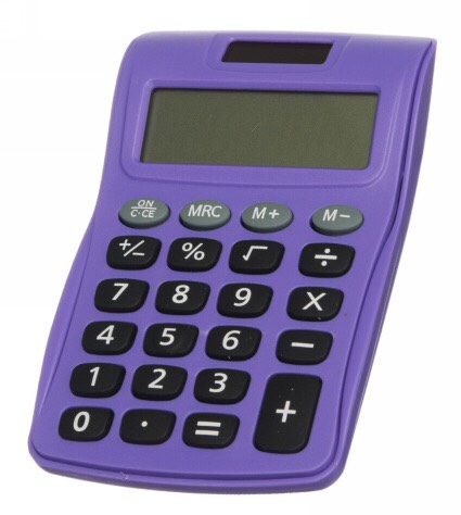 Calculator- To do some math.
