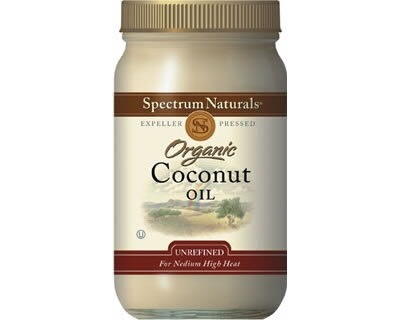 Coconut oil can do that!