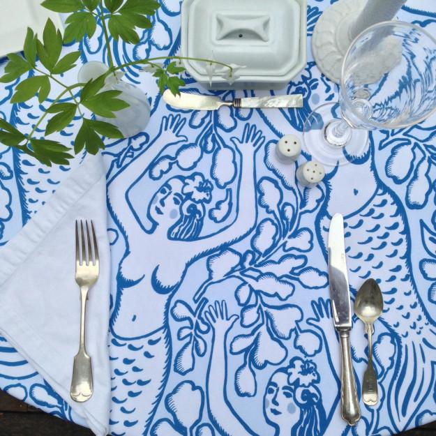 15. ….and a tablecloth for your next dinner party.