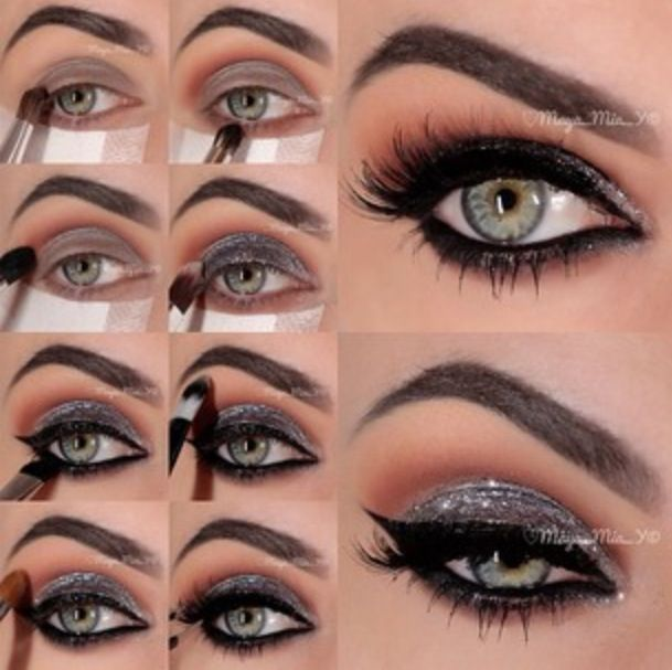 turn a boring normal eye into a sexy, fierce smokey eye! black is great with every colour. and its pretty hard to mess up. GLAM ON GIRL!