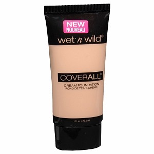 This foundation works great. It blends into your skin nicely and it comes in many shades to match your skin tone perfectly.