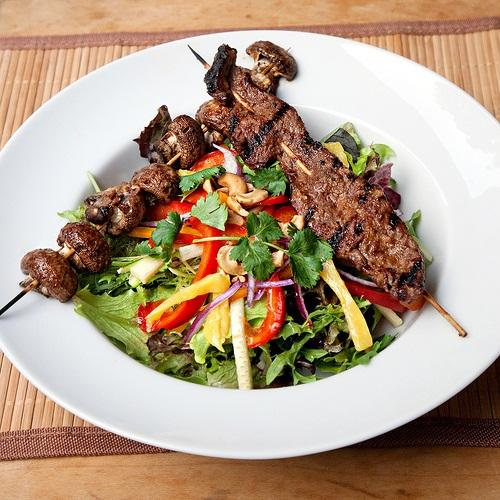 4. Kalbin Beef Salad