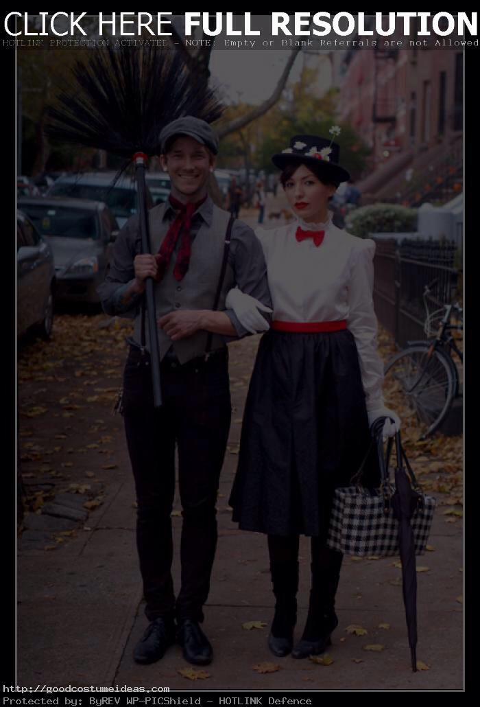 Bert and Mary Poppins!