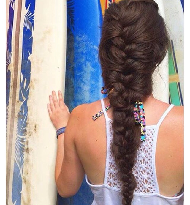 French braid for long hair if you have long hair, this French braid will definitely look good on you. it's can be great for sports or you can pull bits out to make it messy and loose. don't worry if you have short hair, one or two of these will look great on you too.