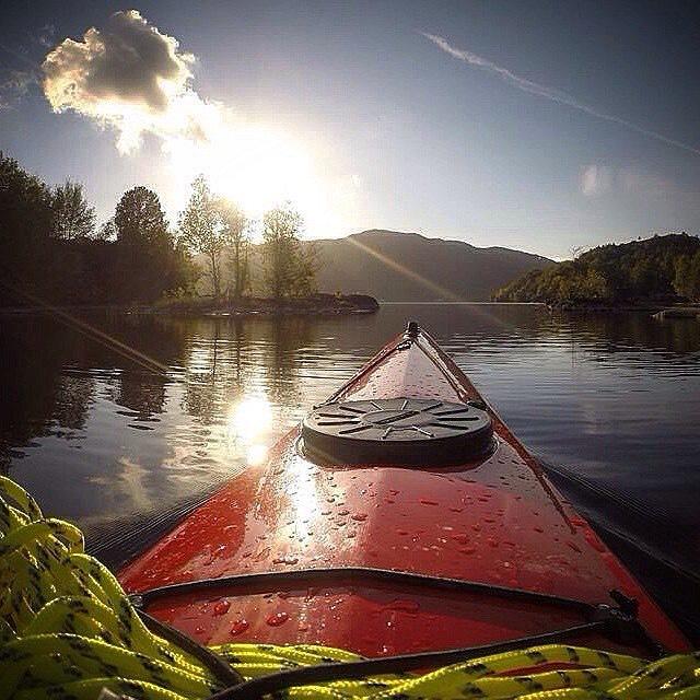 37. Go kayaking
