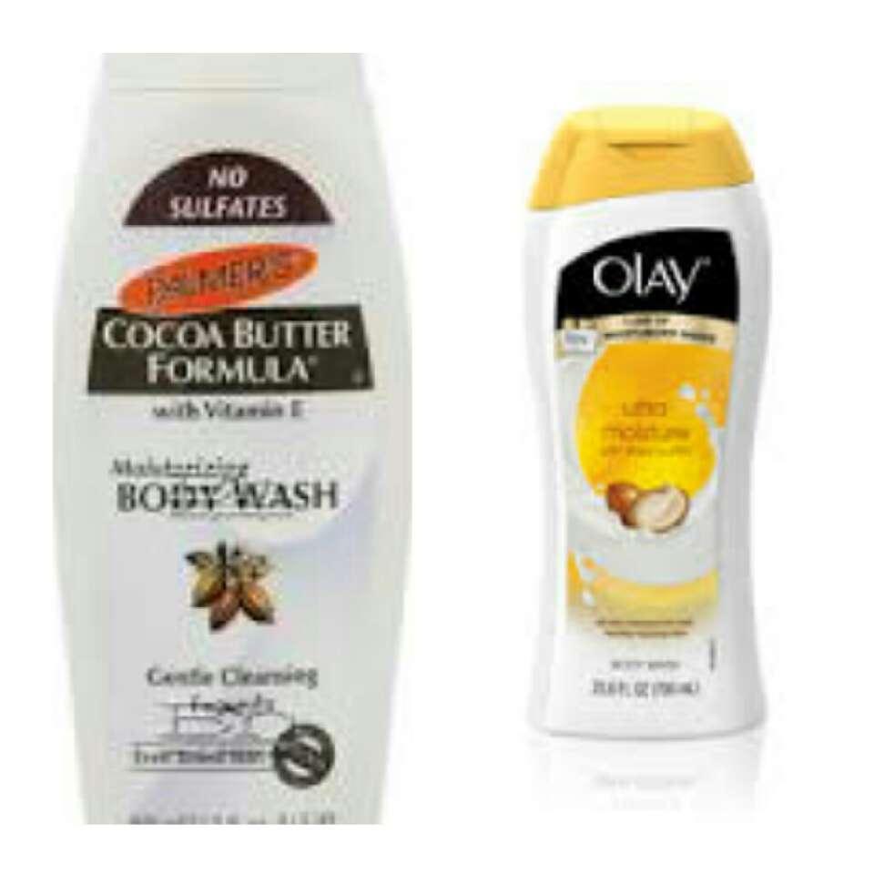 Use moisturizing body wash. Almond milk or coconut oil are preferred.