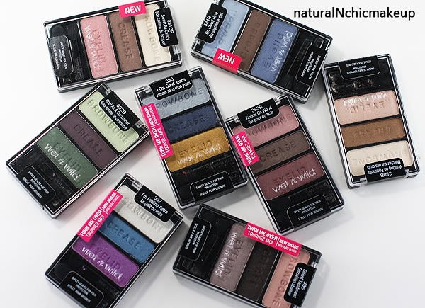 Wet and wild have one of the nicest eye shadows in the drugstore.