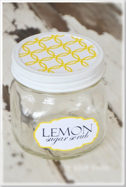 Scoop the mixture into a pretty jar. (You can create your own pretty jar) And keep it all to yourself.  Or gift it to your mom or to your best girlfriends!  They will love you forever!