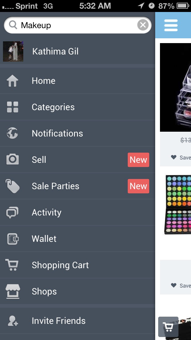 You can purchase or sell items it is very easy to use.