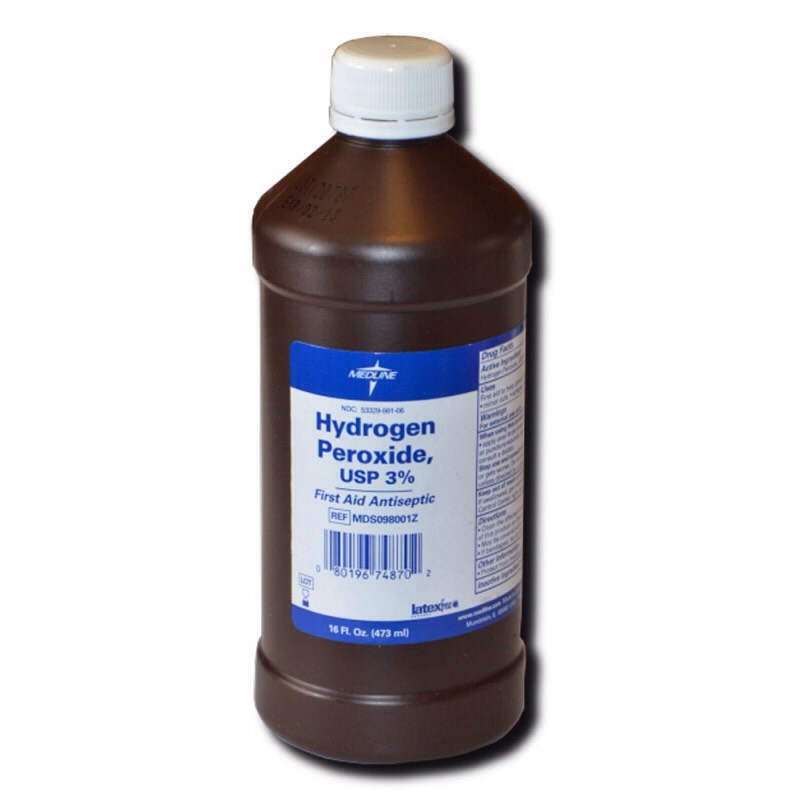 peroxide is a deep cleaner that's why it causes even closed wounds to fiz I use this as well