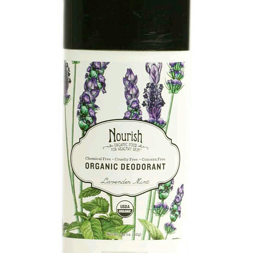 To add a layer of smoothness andprevent chafing, roll deodorant on the inside of your heels. I know it sounds crazy, but trust me!(Nourish Organic Deodorant, $6.11,jet.com)