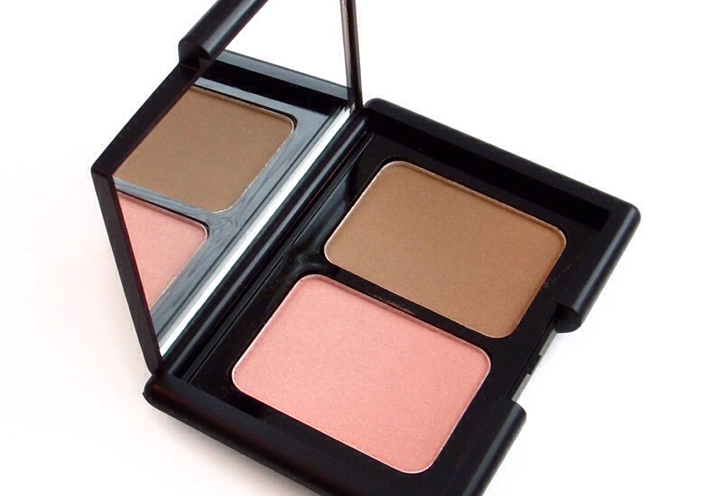 """Apply a blush and bronzer! I usually wear a shimmer blush and a matte bronzer! This helps keep the """"natural"""" look more natural"""