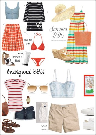 Have your outfits ready for BBQ days