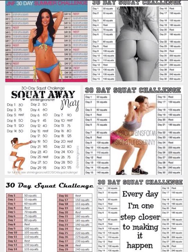 I hate to burst people's bubble (no pun intended) but there are a lot of misconceptions about squat challenges that I want to clear up. This knowledge comes from my bachelors degree in exercise science, medical studies, and certified personal training and strength and conditioning knowledge.