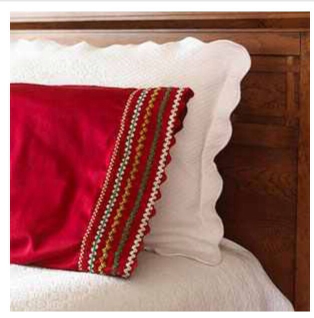Christmas season pillowcases