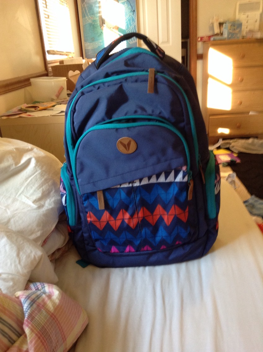 A back pack to last the year