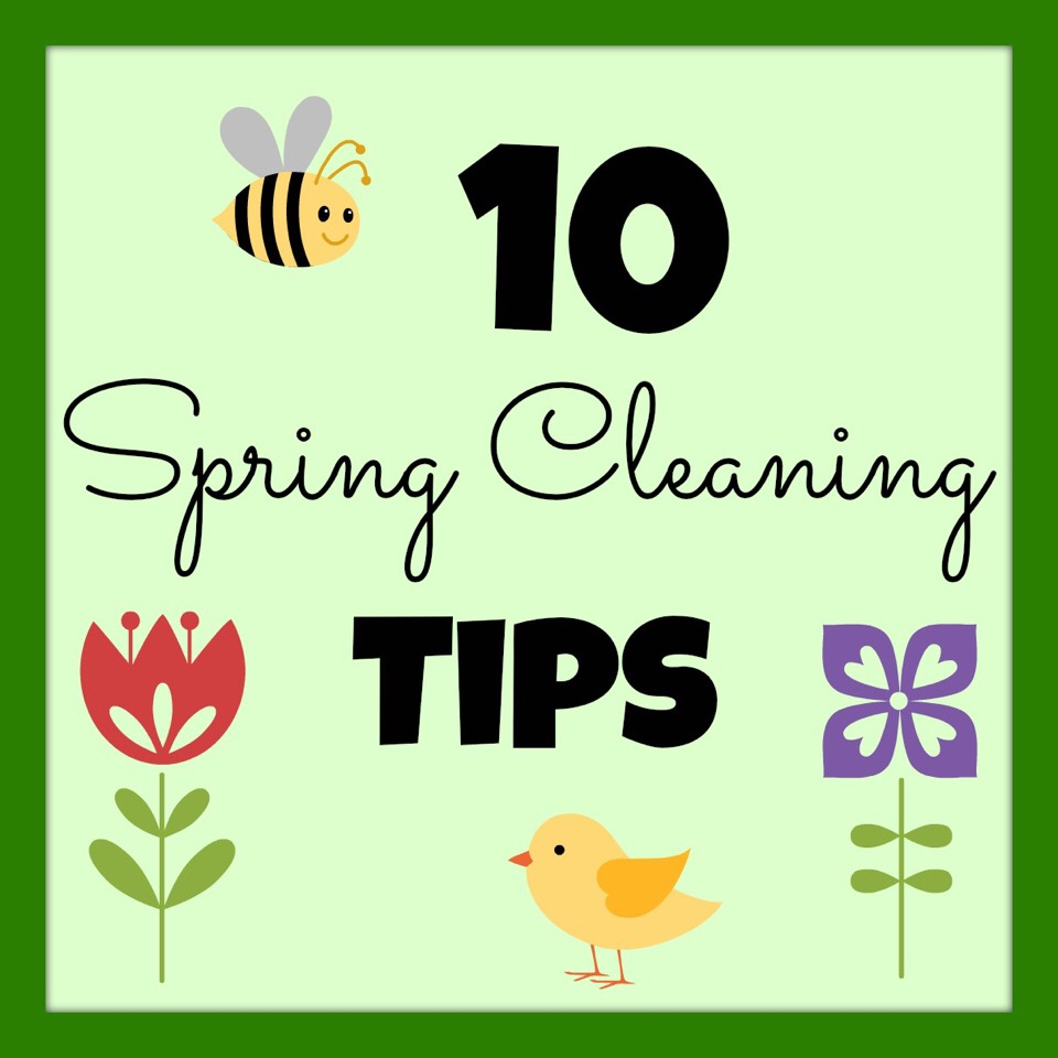 Spring is here; and so is spring cleaning! Get to it using these tips to make your work go by faster.