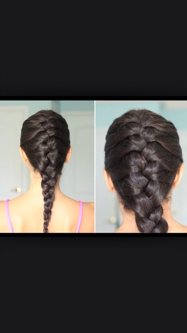 The simple French braid.