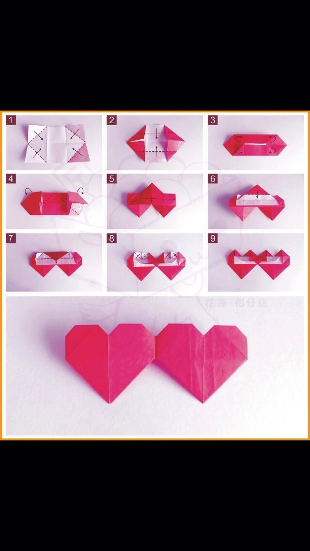 Musely for Romantic origami ideas