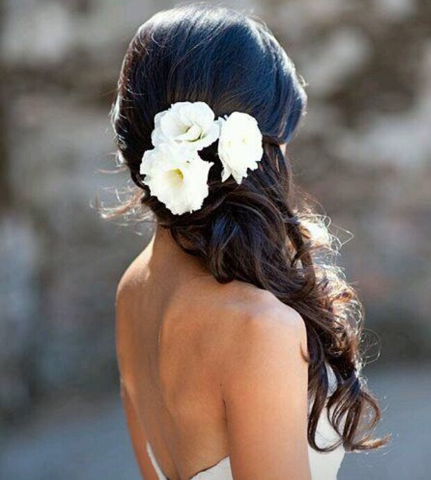 Half Up Wedding Hair Ideas: Half Up Wedding Hair Ideas By Megan Carraher