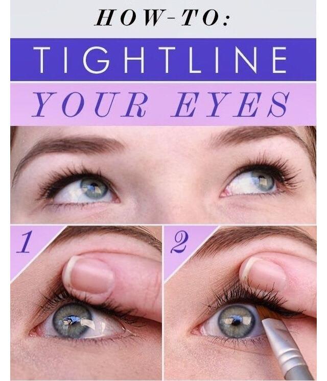 2 step eye transformation 👀