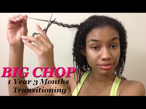 Consider the big chop. A lot of people wait about a year and then decide to cut off all their natural ends. But you don't have to do this you could always trim your ends every couple of months instead of all at once so to have more time to get to know your hair.