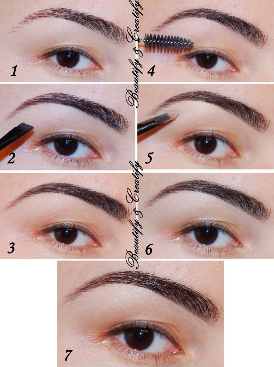 How To Shape Eyebrows By Clair Beech Musely