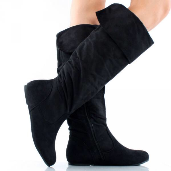 A Nice Pair Of Knee High Boots Tall and structured is the way to go. They're the ideal boot for just about the entire school year when paired with pants and dresses.