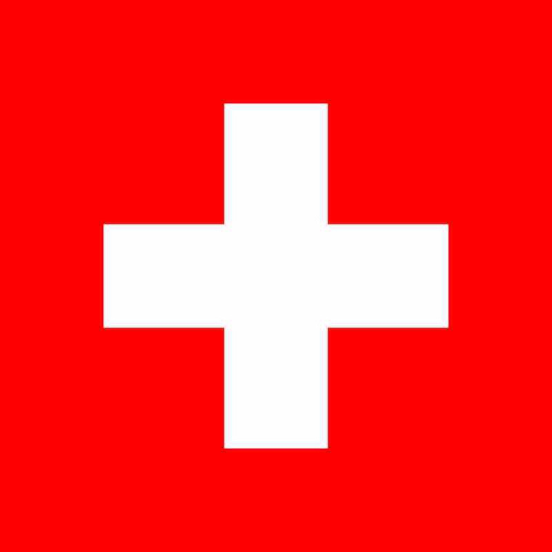 Switzerland is the only country with a square flag.
