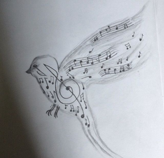 You can also mix 2 together if you love animals and music why not draw an animal with music notes🎶🎶🎵
