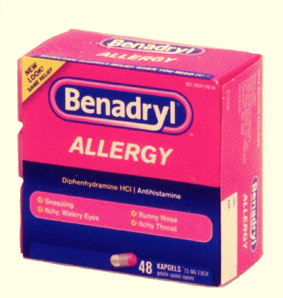 Take Benadryl