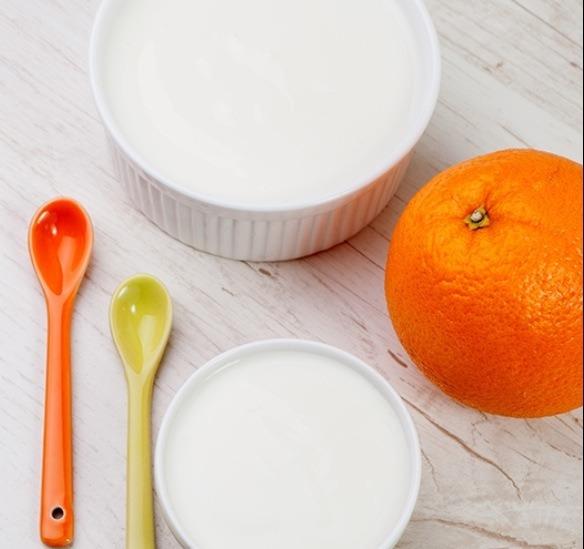Ingredients:  1/2 cup steel-cut oatmeal juice from 1 whole orange 3 tbs plain yogurt (Greek yogurt is ideal) 2 tbs honey 2 teaspoons dried orange peel