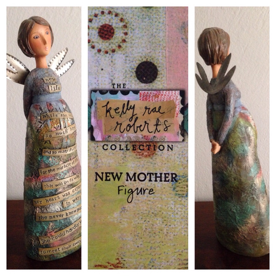 Sentimental figurine...perfect for the mom-to-be.