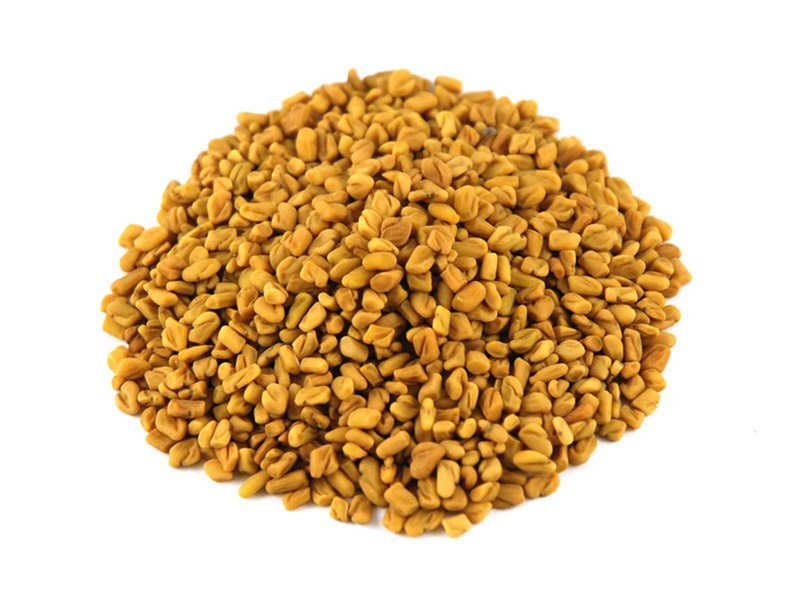 Take fenugreek. Soak 1 tsp. of fenugreek in 1 glass of water, at night and in the morning. This can balance your hormones, though be aware that it can cause some skin irritation and diarrhea.